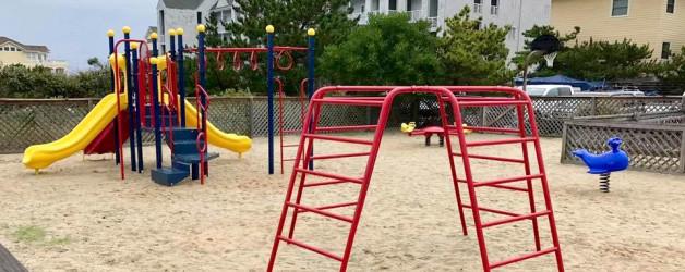 New Playground Arrives
